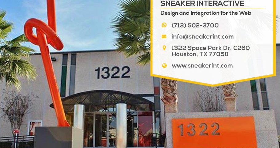 Sneaker Interactive location 1322 Space Park Drive Houston TX 77058
