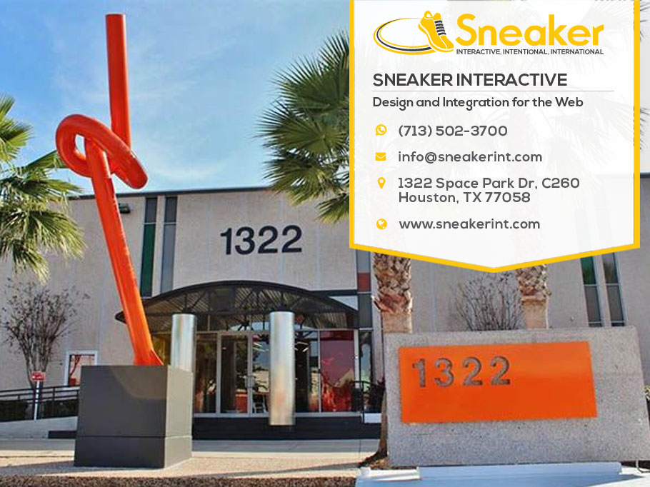 A Web Design Company In The Clear Lake Area Of Texas Sneaker Web Design Llc