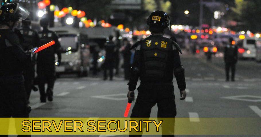 Server security for AWS Hosting